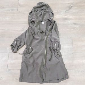 H&M Army Green Trench Jacket